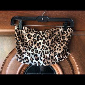 Forever 21 Tops - Cheetah Print Tube Top
